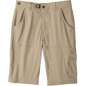 Prana M's Stretch Zion Shorts Dark Khaki